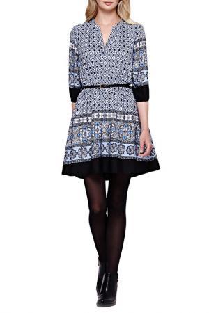 Платье YUMI. Цвет: черный