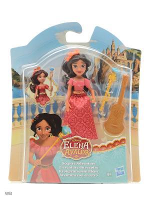 Маленькие куклы Елена - принцесса Авалора в ассорт. Disney Princess. Цвет: розовый, темно-коричневый