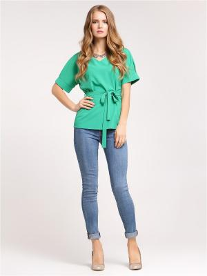 Блузка Vittoria Vicci. Цвет: зеленый