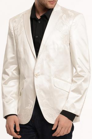 Пиджак Dewberry. Цвет: белый