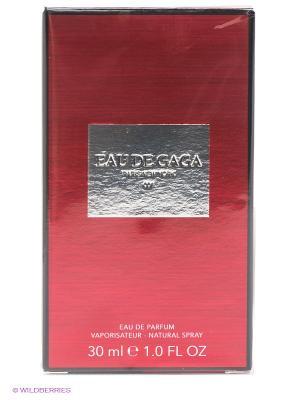Туалетная вода Lady Gaga, 30 мл GAGA. Цвет: темно-красный