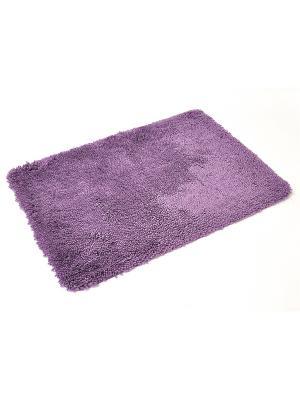 Мягкий коврик для ванной комнаты 70x100 см Fellone violet WESS. Цвет: фиолетовый
