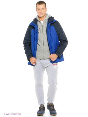 Куртка ECHO BAY MEN Jack Wolfskin. Цвет: синий