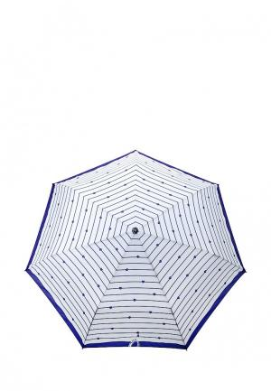 Зонт складной Fabretti. Цвет: белый