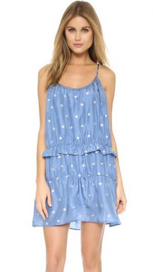Платье Prudence St. Roche. Цвет: голубая сойка с серебристым отливом