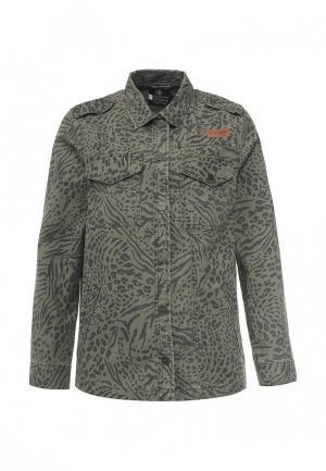 Куртка Volcom. Цвет: зеленый