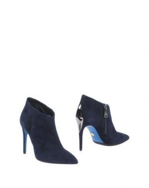 Ботинки LORIBLU. Цвет: темно-синий