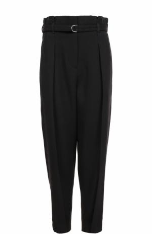 Укороченные брюки с завышенной талией и поясом 3.1 Phillip Lim. Цвет: черный
