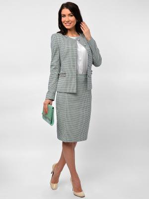 Жакет Maria Velada. Цвет: серый, зеленый