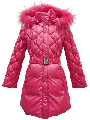 Пальто DIALINI. Цвет: розовый