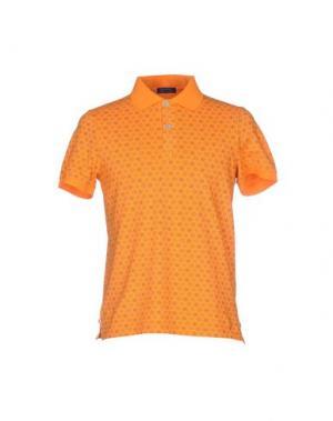 Поло DIMATTIA. Цвет: оранжевый