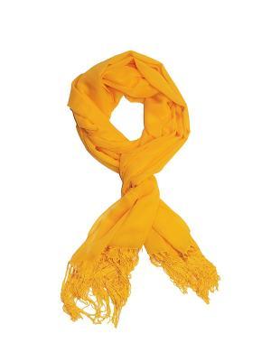 Палантин Passigatti. Цвет: желтый