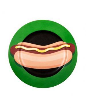 Блюдо SELETTI. Цвет: зеленый