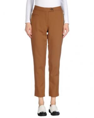 Повседневные брюки LAURÈL. Цвет: верблюжий