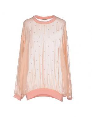 Блузка EMMA COOK. Цвет: лососево-розовый