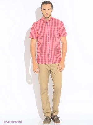 Рубашка Fred Perry. Цвет: красный