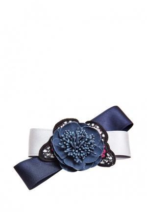 Заколка Kameo-Bis. Цвет: синий