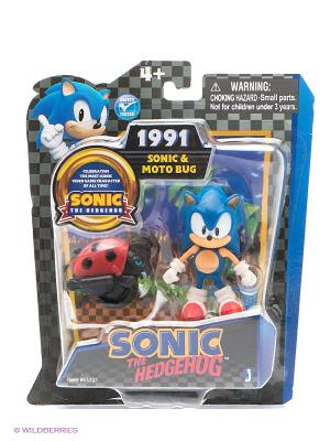 Фигурка Соник Sonic. Цвет: синий, красный