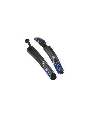 Комплект крыльев V-Grip. Цвет: черный