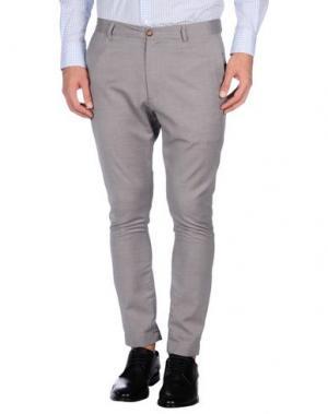 Повседневные брюки - -ONE > ∞. Цвет: светло-серый