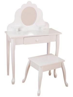 Туалетный столик Модница KidKraft. Цвет: белый