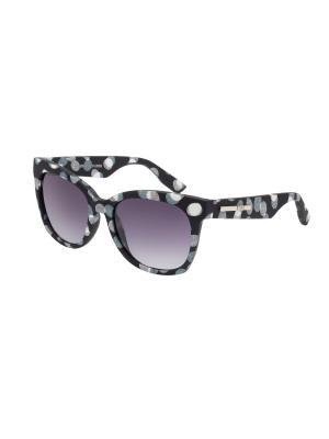 Солнцезащитные очки McQueen. Цвет: белый