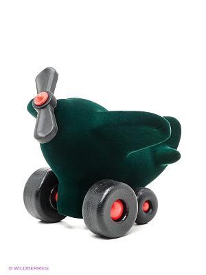 Игрушка Самолет Rubbabu. Цвет: зеленый