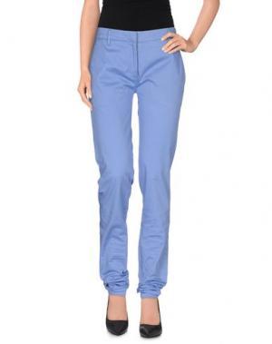 Повседневные брюки SIVIGLIA WHITE. Цвет: сиреневый