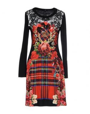 Короткое платье SALLY NEW YORK. Цвет: красный