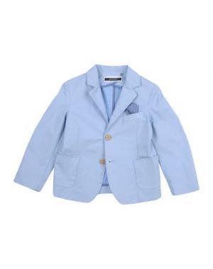 Пиджак TAGLIATORE. Цвет: небесно-голубой