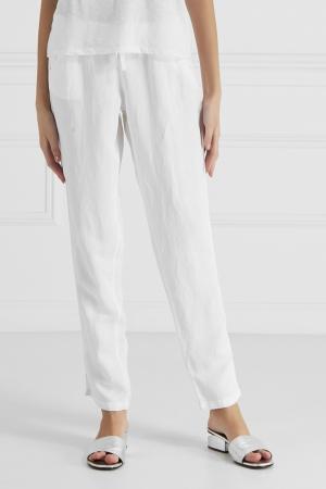 Комбинированные брюки Princesse Tam-Tam. Цвет: белый