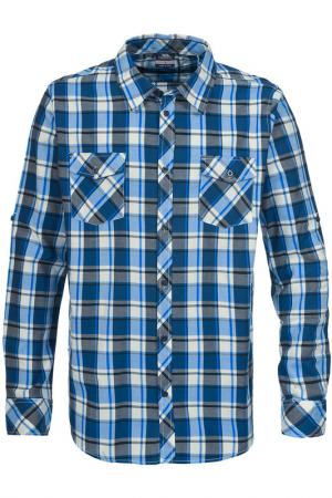 Рубашка Trespass. Цвет: multicolor