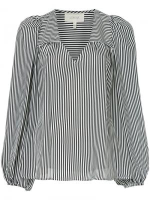 Блузка с V-образным вырезом Billow The Great. Цвет: чёрный