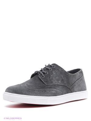 Ботинки Ascot. Цвет: темно-серый
