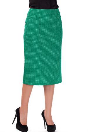 Юбка Mannon. Цвет: зеленый