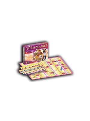 Тop Game. Настольная игра для девочек: Гипермаркет. TopGame. Цвет: розовый, желтый, зеленый