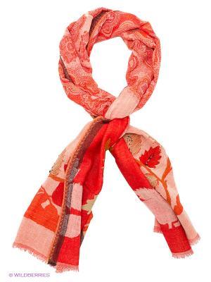 Палантин Venera. Цвет: коралловый, бежевый, красный