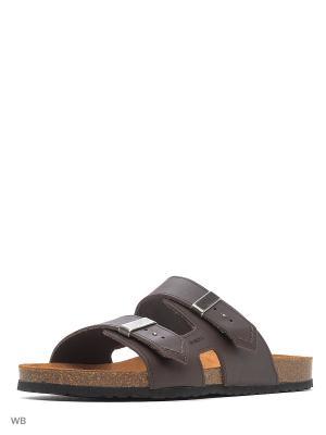 Пантолеты GEOX. Цвет: темно-коричневый