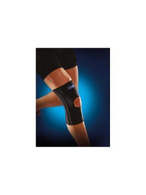 Неопреновый усиленный коленный ортез Thuasne. Цвет: черный