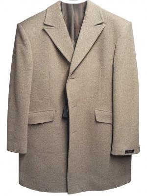 Пальто btc. Цвет: бежевый
