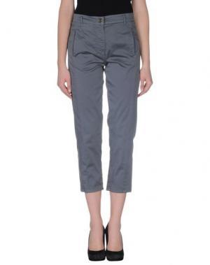 Повседневные брюки ANNARITA N.. Цвет: серый