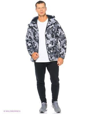 Куртка M NSW DOWN FILL HD JKT-PRT Nike. Цвет: черный, белый