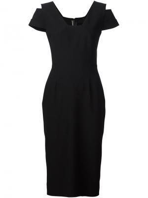Платье Minetta Roland Mouret. Цвет: чёрный
