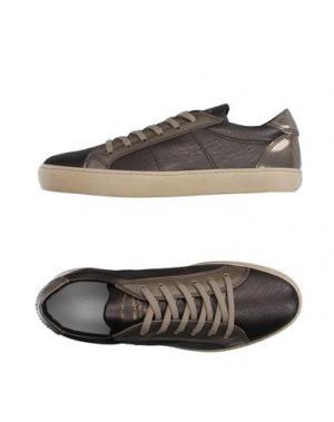 Низкие кеды и кроссовки PANTOFOLA D'ORO. Цвет: свинцово-серый