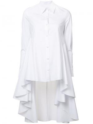 Рубашка с неравномерным подолом Co. Цвет: белый