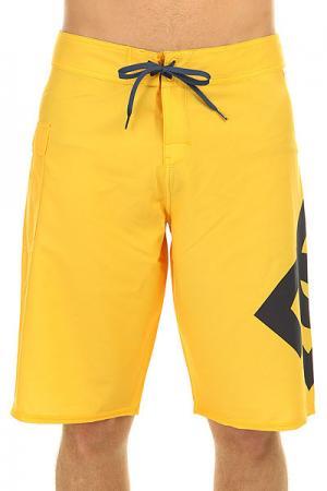 Шорты пляжные DC Lanai 22 Lemon Chrome Shoes. Цвет: желтый