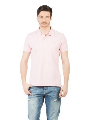Футболка-поло Colin's. Цвет: розовый