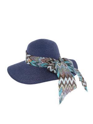 Шляпа HERMAN. Цвет: синий