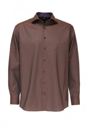 Рубашка Berthier. Цвет: коричневый