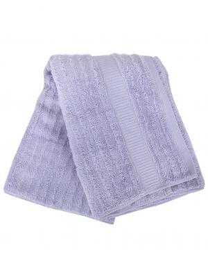 Полотенце хлопок 70х140см cotton-3-d1/3 Cite Marilou. Цвет: сиреневый